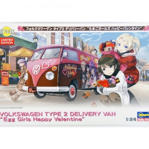 [HASEGAWA] 1/24 폭스바겐 Type 2 Delivery Van 'Egg Girls Happy Valentine' (한정판) [52136]