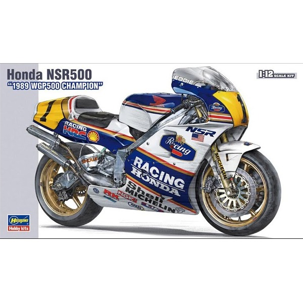 [하세가와] 1/12 혼다 NSR500 '1989 WGP500 Champion' & Photo-Etched Parts [21504]